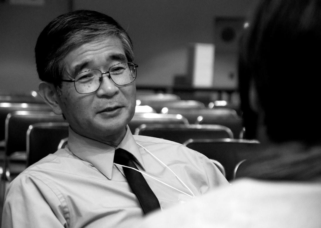 日本各地で開催される「メディカル・カフェ」。参加者が会話を楽しむ間、樋野先生は別室などで「がん哲学外来」に当たる。「患者さんには笑顔を取り戻して、生きがいをもって生きてほしい」との願いから、先生はボランティアで全国を巡り、実際に面談を受けた患者さんは一様に、「心が軽くなった」と語る。