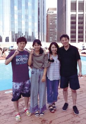 米国への家族旅行(大段教授)
